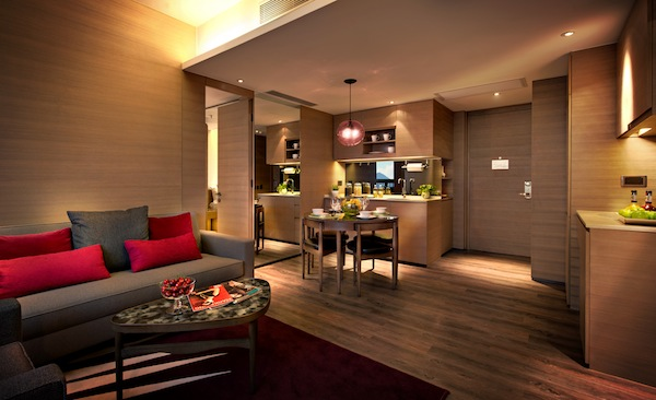 <br>Vega Suites is the stylish serviced suite hotel with 176 modern suites located atop Tseung Kwan O MTR Station in Kowloon east, Hong Kong<br><br>It is part of an integrated development complex with